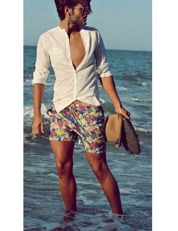 Cool Beach Outfit Ideas for Men-7