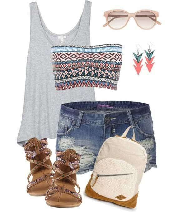 Summer Teen Outfit Combinations-7