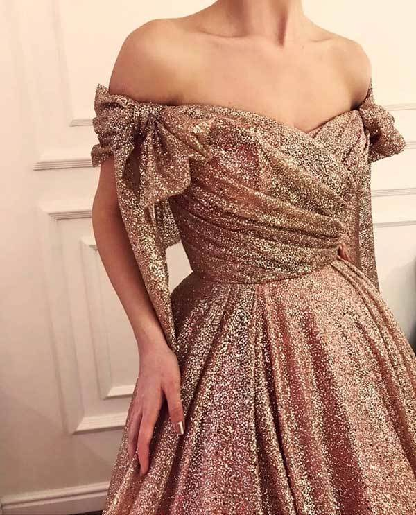 Sparkly Prom Night Outfits-9
