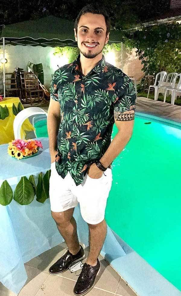 Beach Party Outfit Men