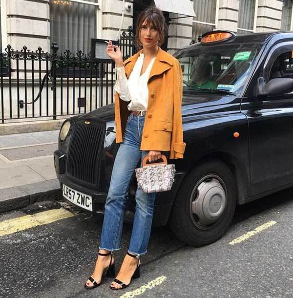London Fashion Street Style