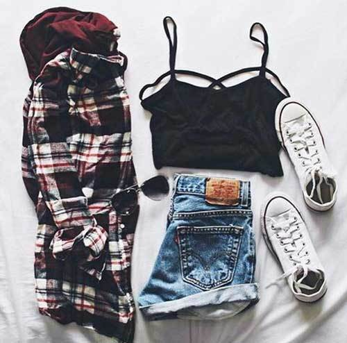 School Outfits for Girls