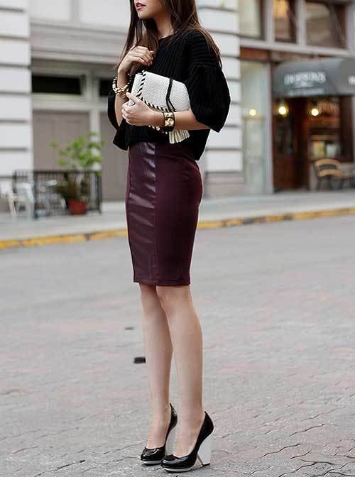 Skirt Outfits for office