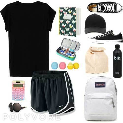 Sporty School Outfits