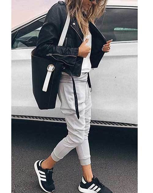 Jogger Pants Outfit Ideas-11