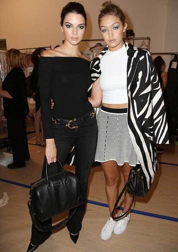 Gigi Hadid and Kendall Daily Outfits-11