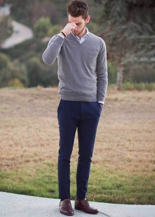 Best Fall and Spring Casual Attire for Men-12