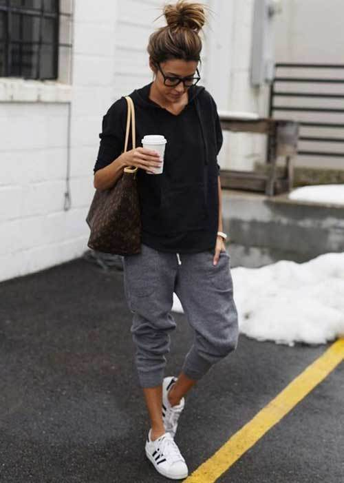 Travel Jogger Pants Outfit Ideas-13
