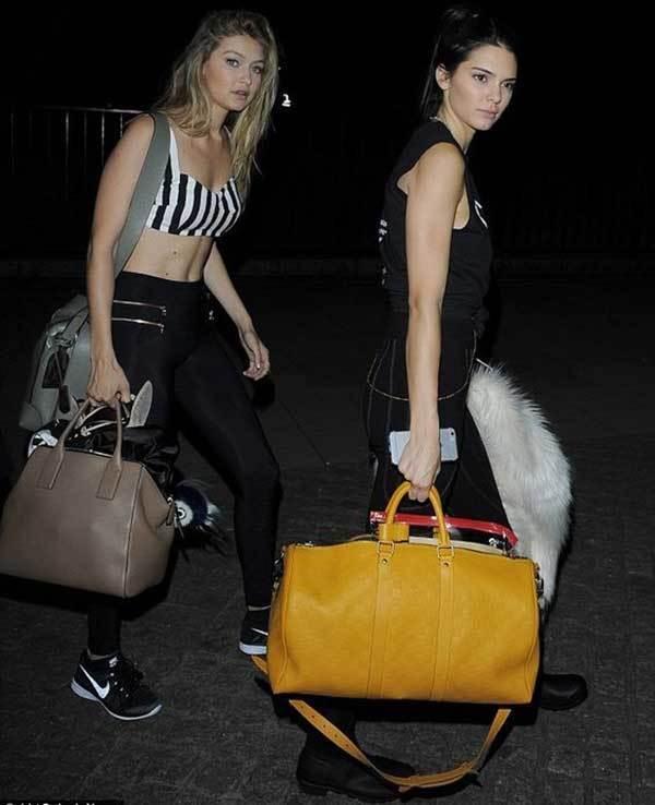 Gigi Hadid and Kendall Tights Outfits-14