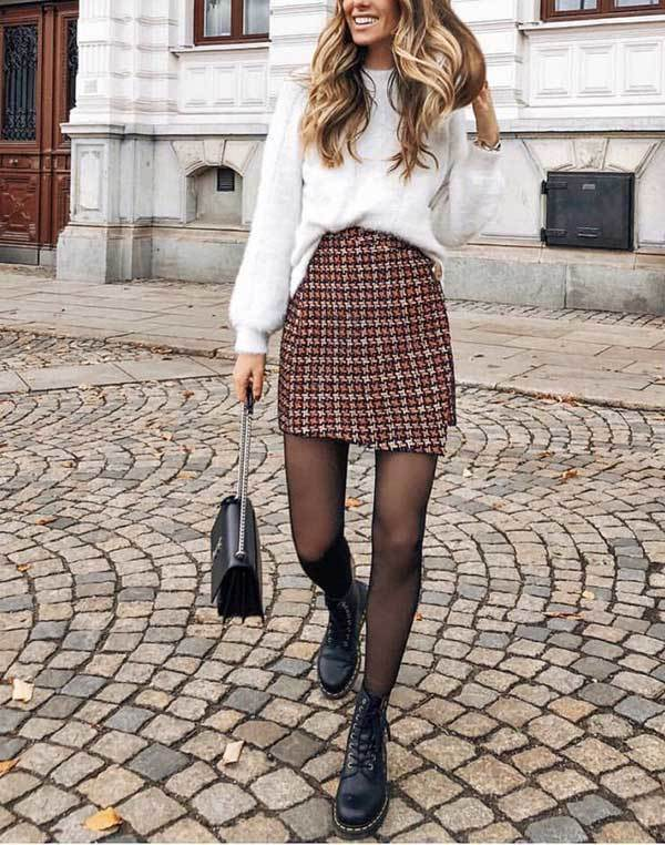Winter Skirt Outfits-14