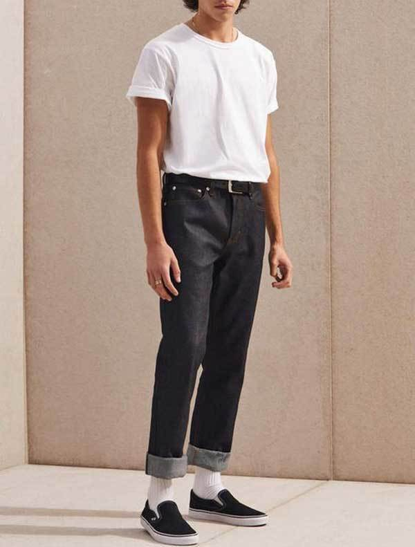 Men Minimal 90S Fashion Outfits-17