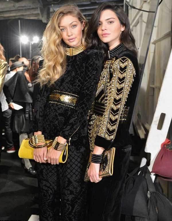 Gigi Hadid and Kendall Luxury Look-17