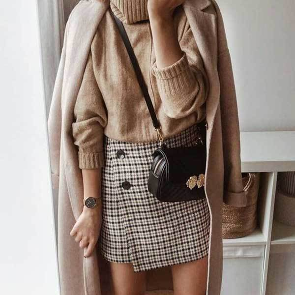 Winter Skirt Outfits-17