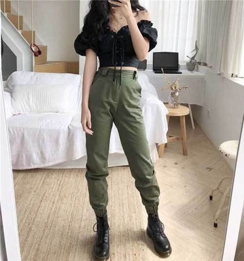 Cargo Jogger Pants Outfit Ideas-19