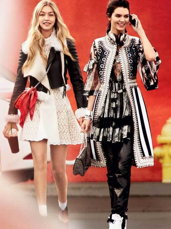 Gigi Hadid and Kendall Vogue-19
