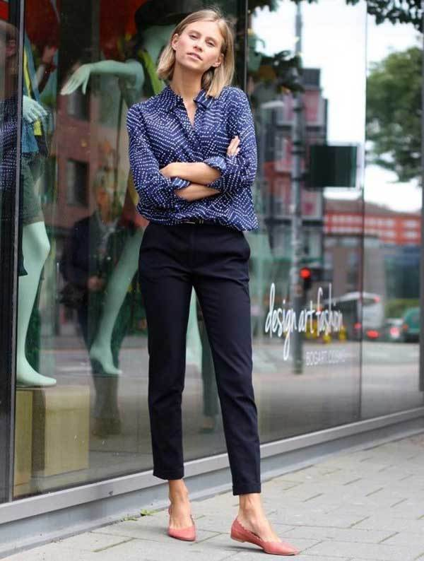 Simple Work Outfit Ideas-19