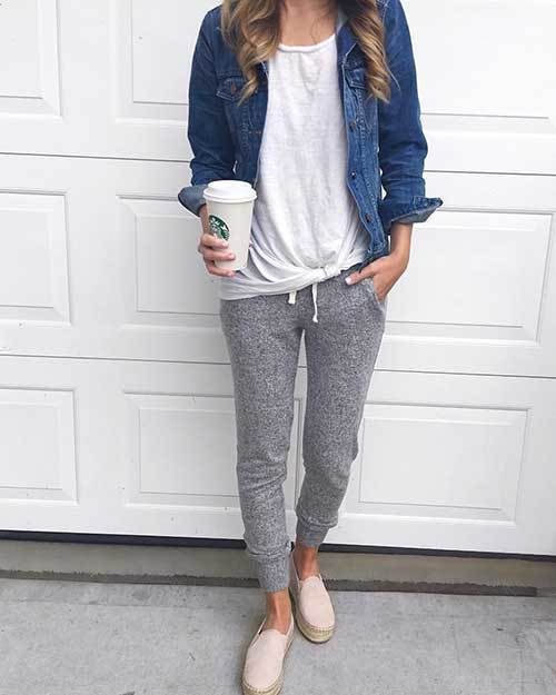 Daily Jogger Pants Outfit Ideas-27