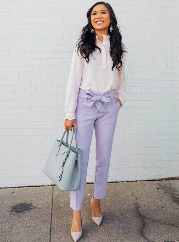 Cute Work Outfit Ideas-7