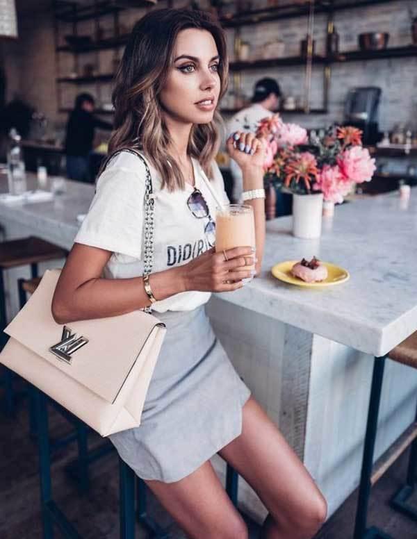 LA Short Skirt Street Style-7