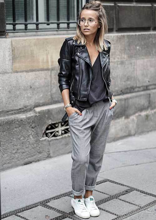 Comfy Jogger Pants Outfit Ideas-8