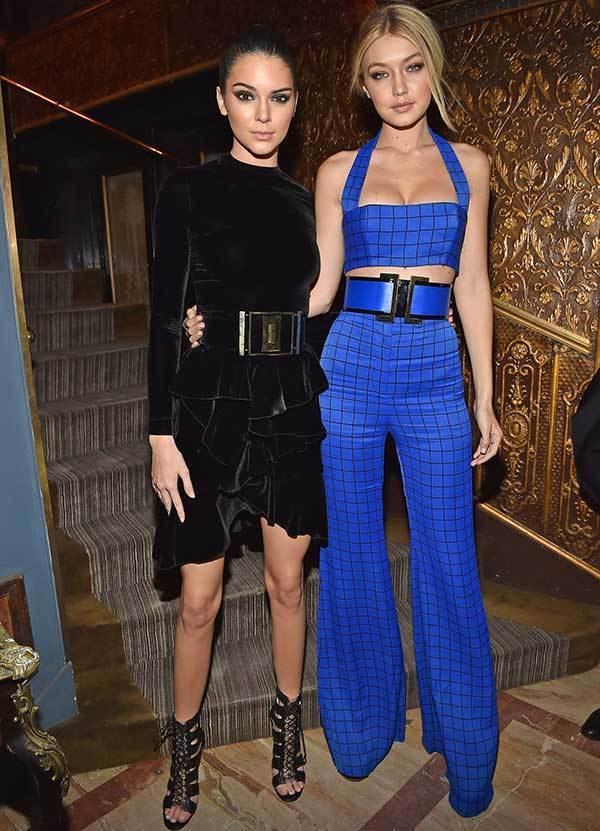 Gigi Hadid and Kendall formal Outfits-9