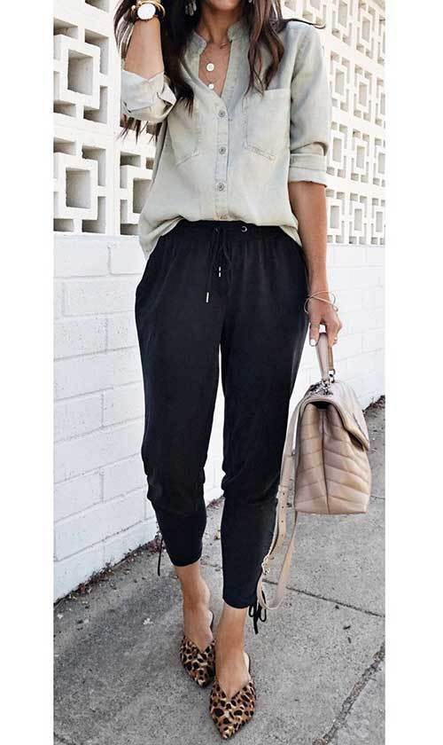 Jogger Pants Outfit Ideas