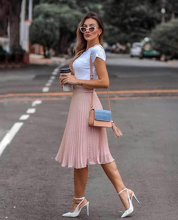 Midi Skirt Outfits