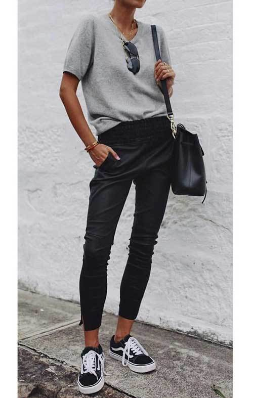 Outfit Ideas with Jogger Pants