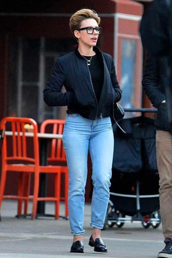 Scarlett Johansson-Celeb Street Style-17