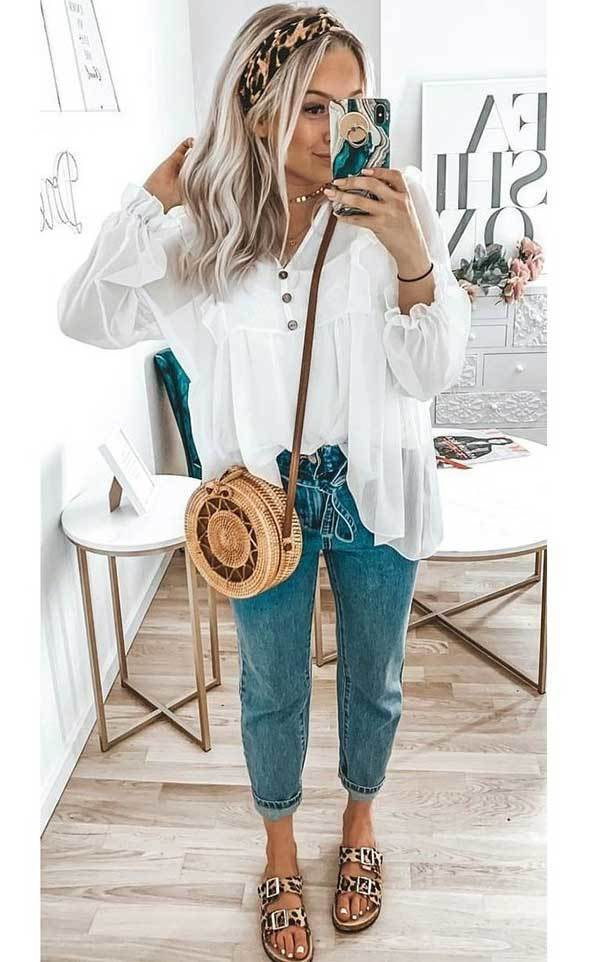 Simple Spring Outfits