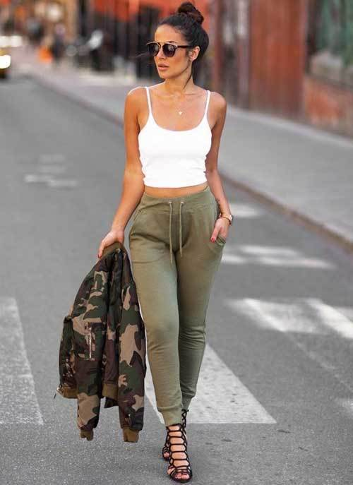 Jogger Pants Outfit for Women