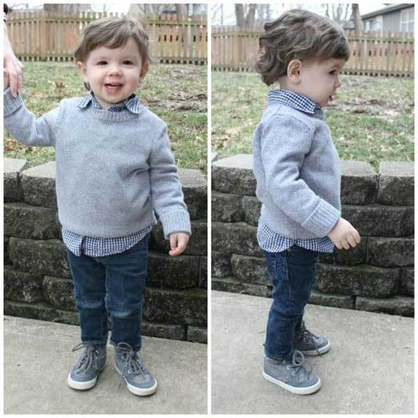 Toddler Boy Winter Outfits
