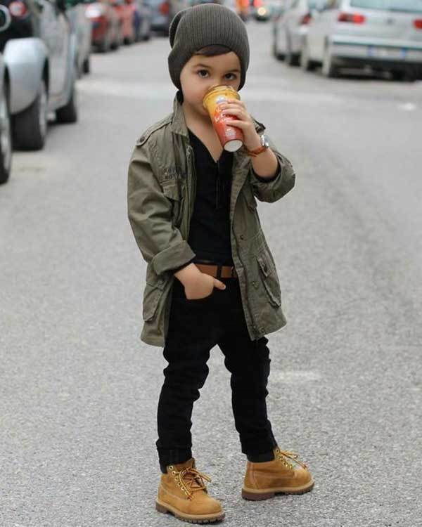 Winter Outfits for Little Boys