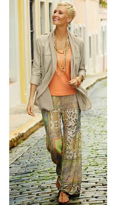Summer Boho Outfits for Women Over 50