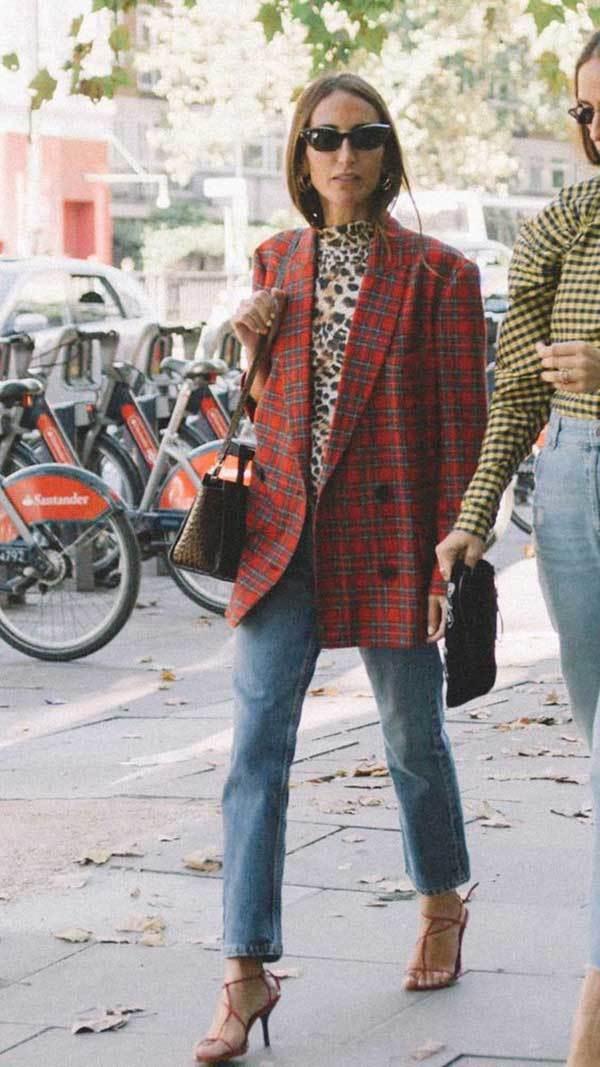 Boyfriend Jeans London Fashion Street Style