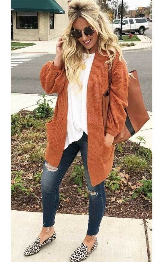 Cardigan Fall Outfits for Women