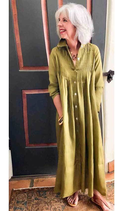 Summer Casual Dress Outfits for Women Over 50