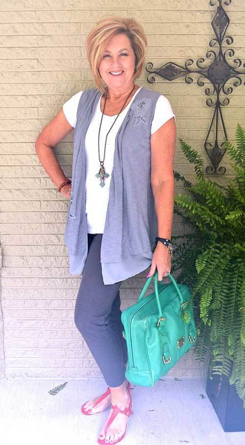 Summer Casual Outfit for Women Over 50