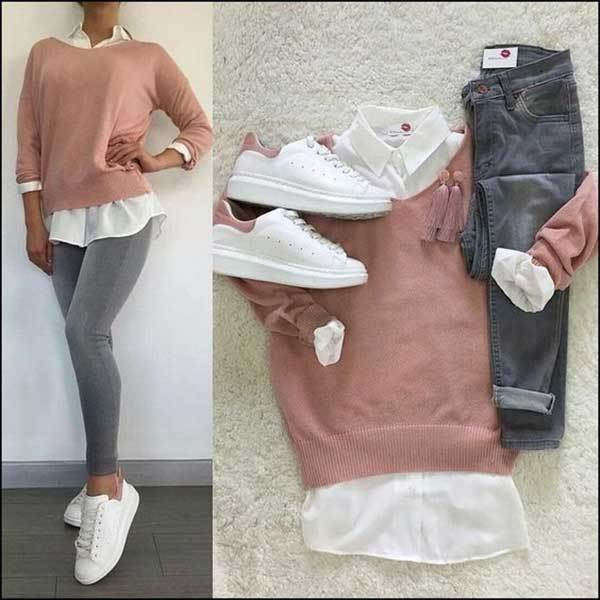 Cute Outfits with Sneakers
