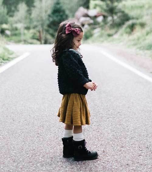 Cute Little Girl Outfits for Fall