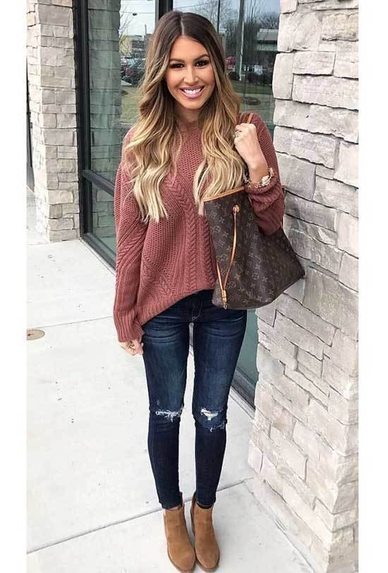 Fall Sweater Outfits for Women