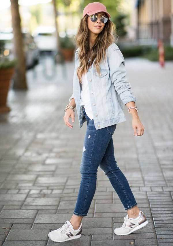 Girl Outfits with Sneakers