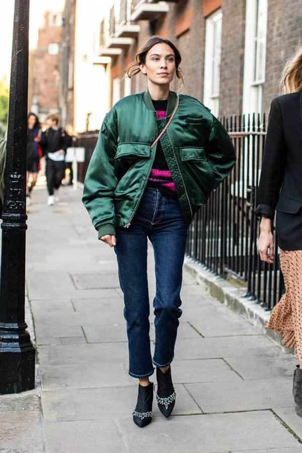 Over-Sized Coat London Fashion Street Style