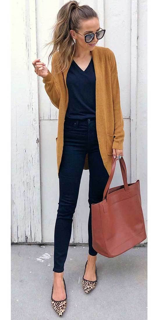 Fall Outfits With Flats