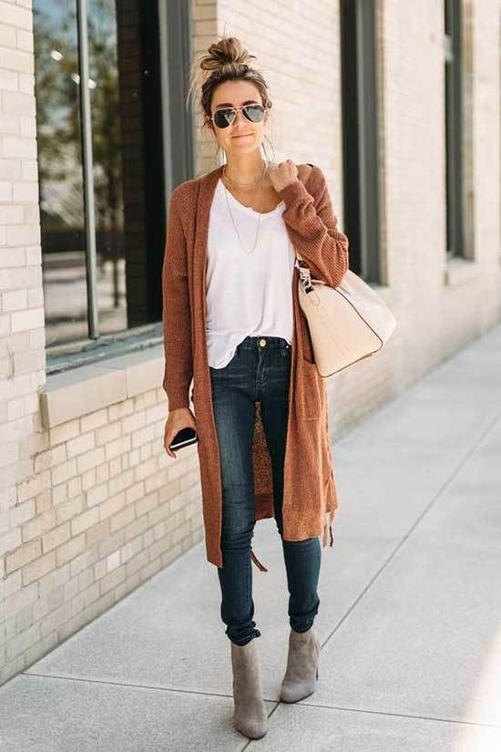 Cardigan Outfits for Fall