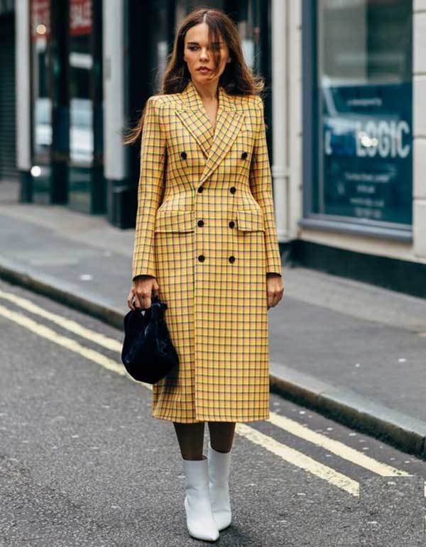 London Fashion Street Style Coat Outfits