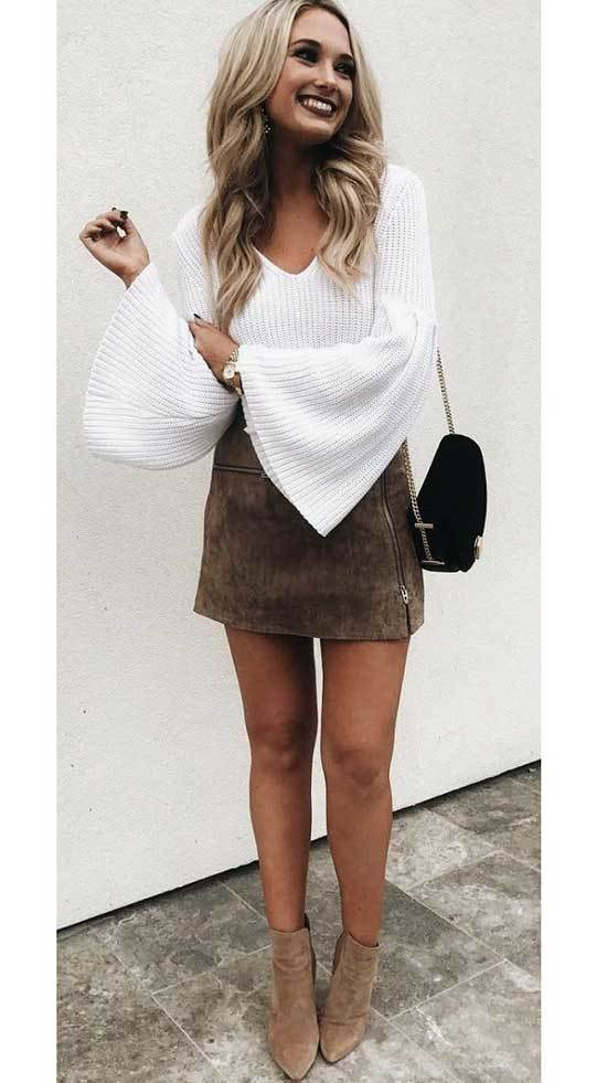 Mini Skirt Outfits for Women