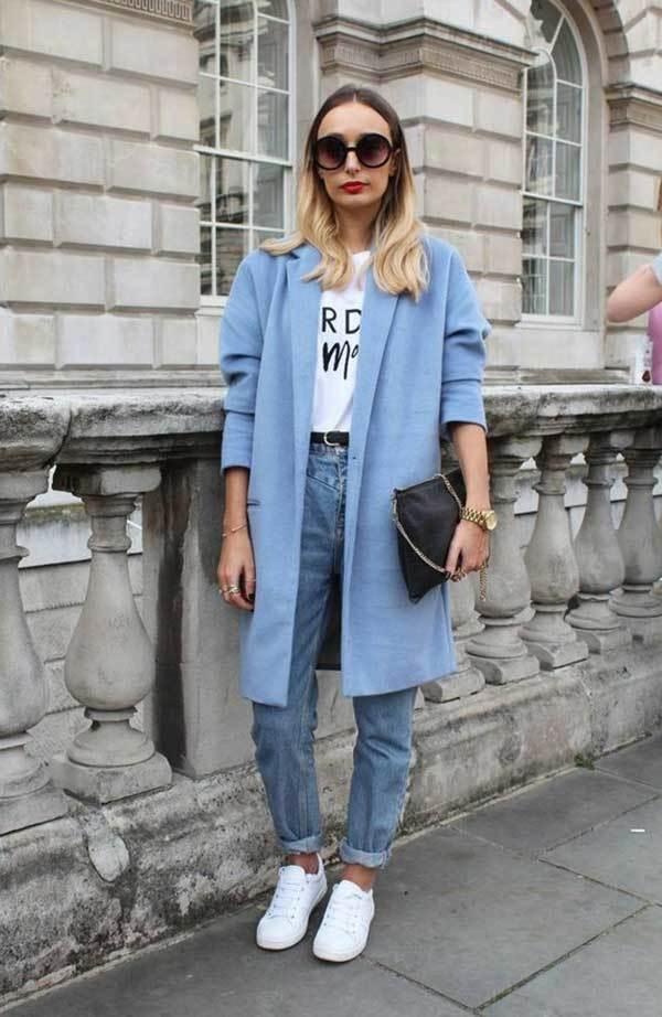 London Mom Jean Fashion Street Style