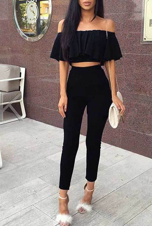 Simple Two Piece Night Out Outfits