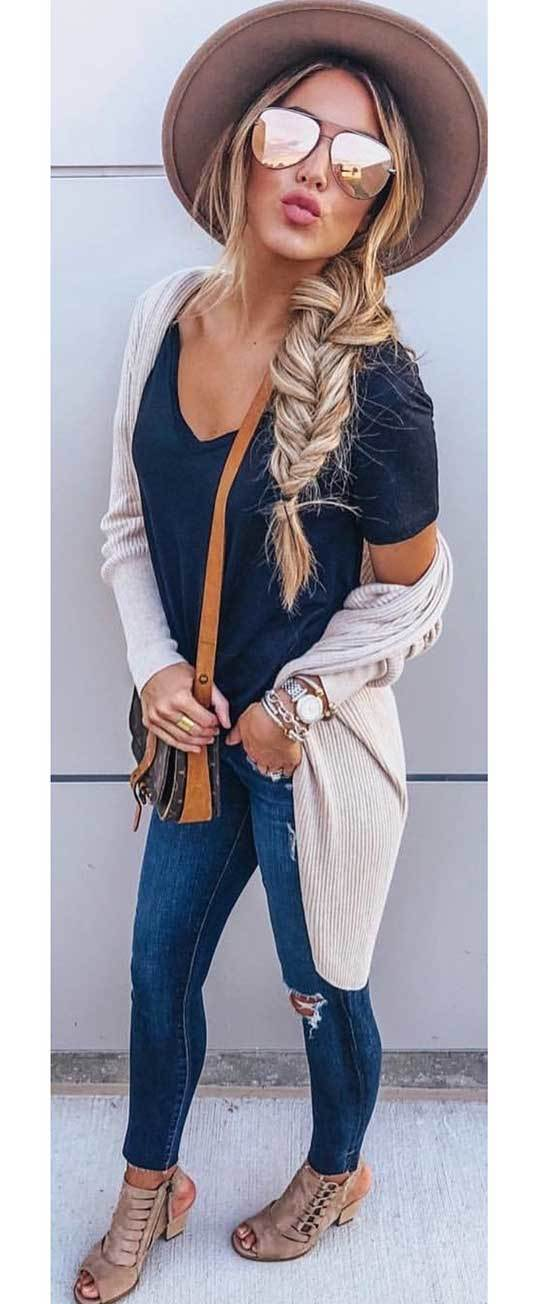 Spring Fall Outfits for Women